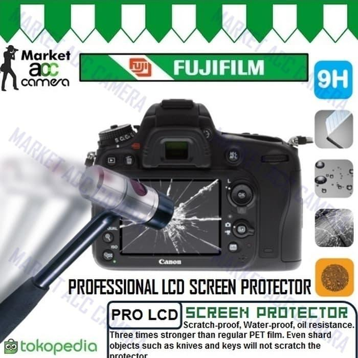 Screen Protector Tempered Glass LCD for Fujifilm X100F/X100T/X30/X70 - ready stock