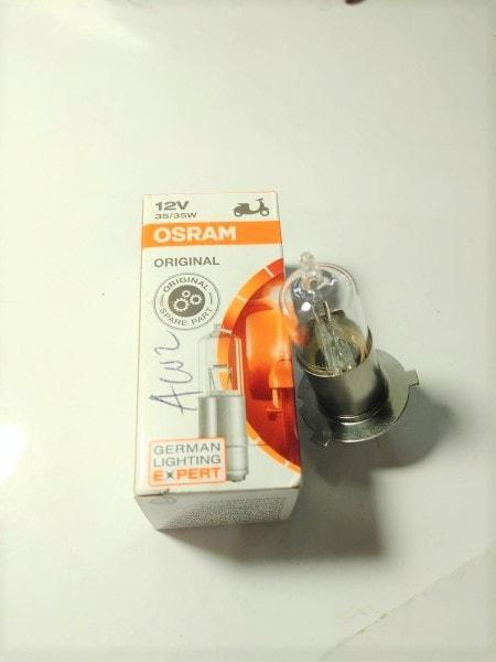 Bohlam Lampu Depan Tiger&GL Pro&Supra X Lama&GL Max&Rxk&Rxz Osram 35W