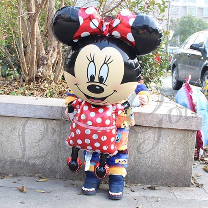 Minnie Large Airwalker Balloon Foil (Balon Minnie Mouse Besar)