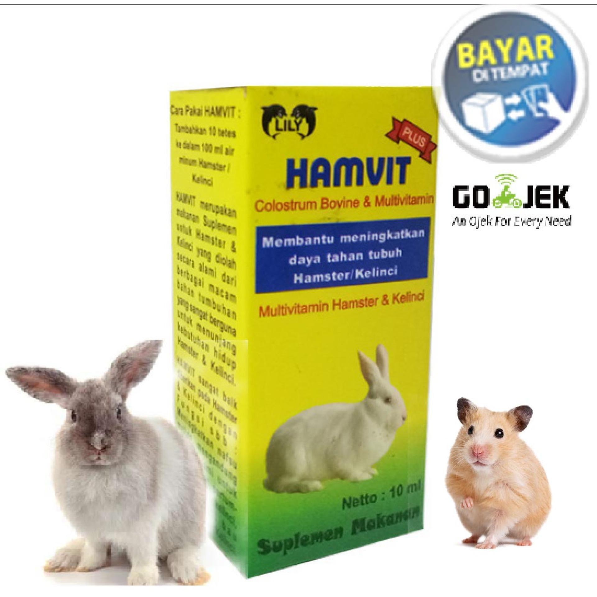 Vitamin Hewan Hamster, Sugar Glider dan Kelinci HAMVIT ht