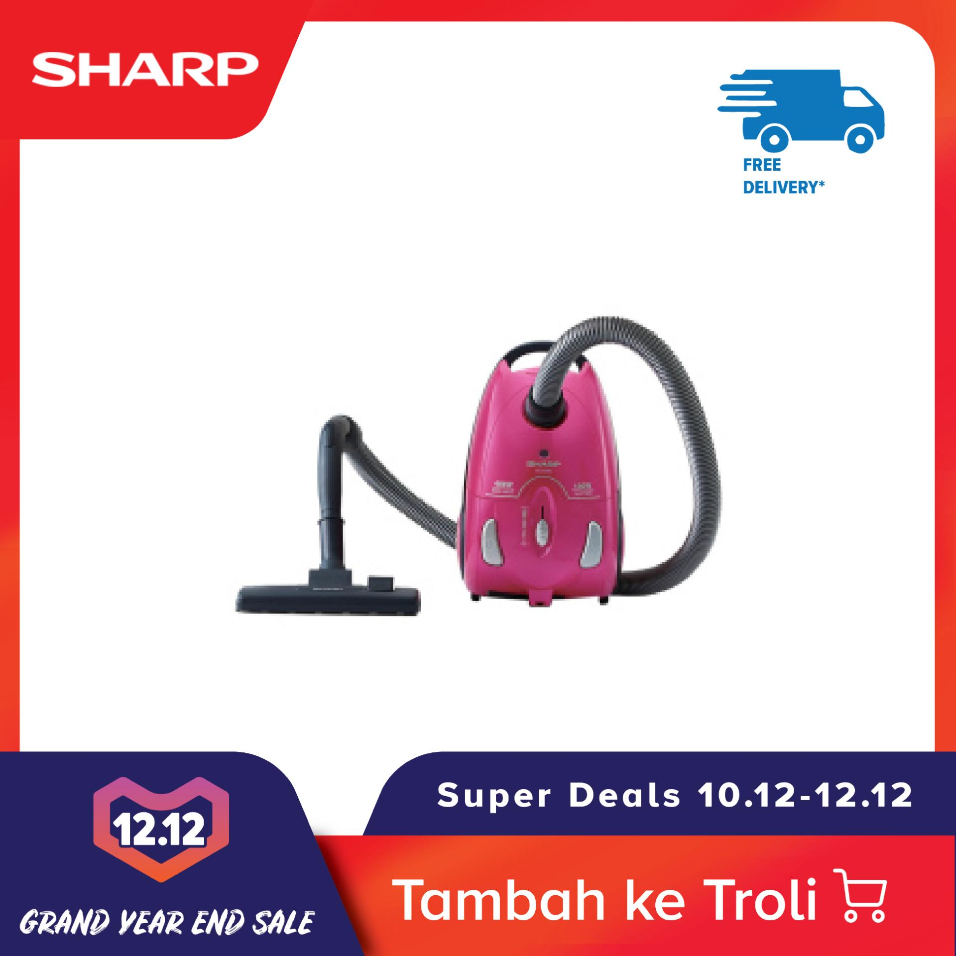 [Gratis Ongkir 10-12 Dec] Sharp EC-8305-P Vacuum Cleaner ...