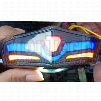 Lampu Stop / Stoplamp / Rem Belakang + Sein Sen LED & Breket For RX King / KLX / CB / D Tracker / Japstyle UNIVERSAL