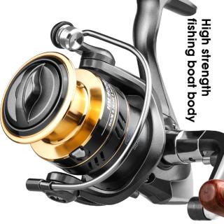 Adboom New giao Hàng Miễn Phí Máy Câu Cá Mới 2021 HM1000-7000 Spinning Reel, CuộN Kéo Tối Đa 8Kg Cuộn Dây Câu Cá Kim Loại Tốc Độ Cao 5.2 1 thumbnail