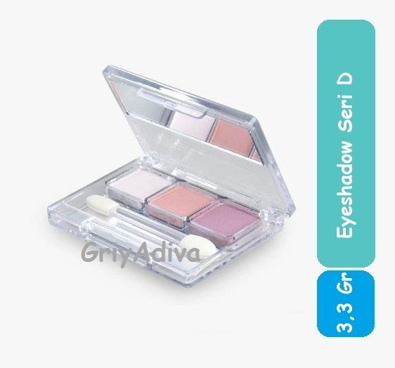 Eyeshadow Wardah 3 In 1 Seri D