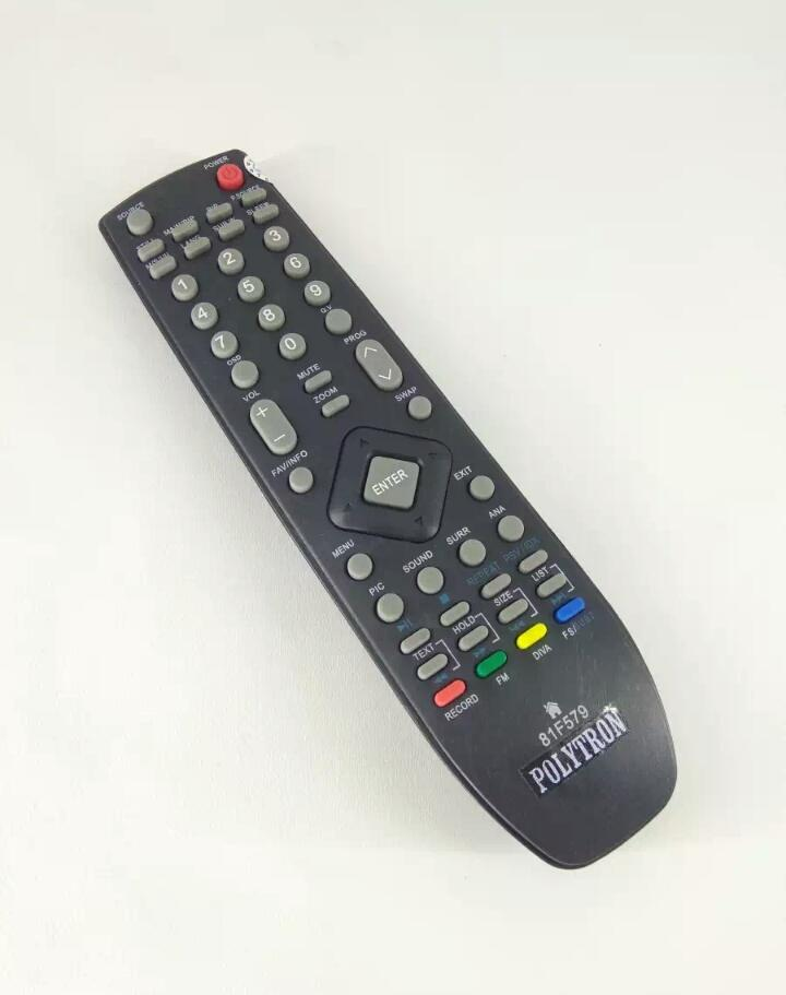 Remote Remote TV polytron LCD LED 81F579 Original pabrik / KW