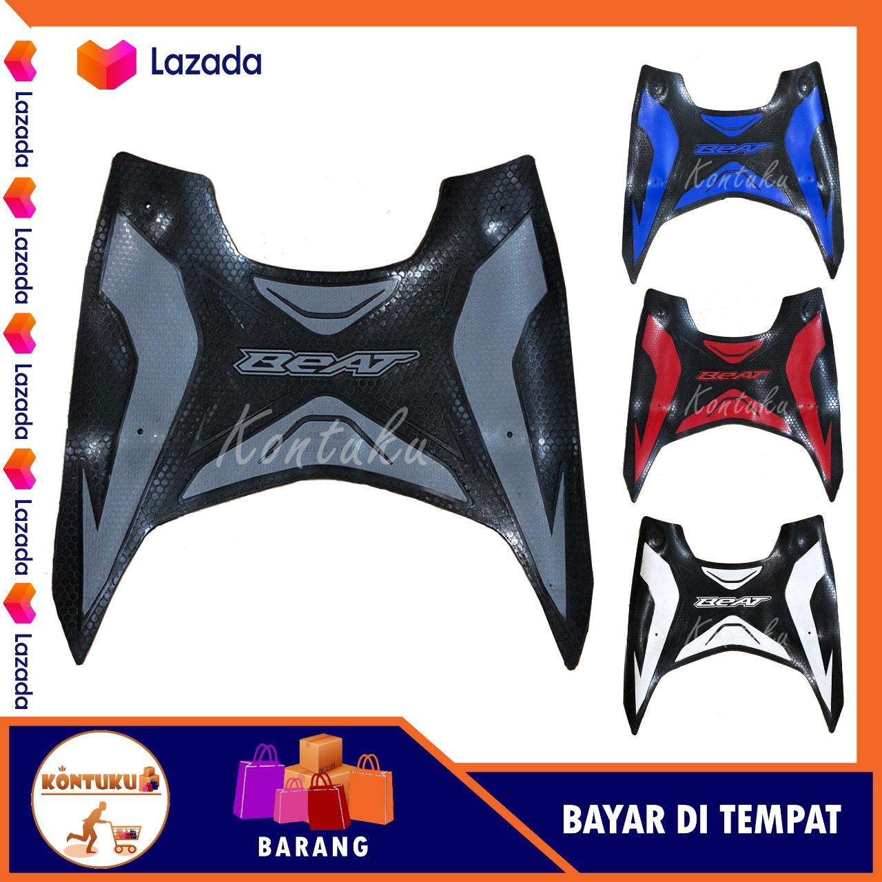 Karpet Motor Beat New 2020 Karpet Beat Terbaru 2020 Beat Deluxe Beat Street Cbs Iss 2020 Silver Abu Abu Lazada Indonesia