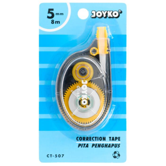 Tipe X / Correction Tape / Pita Penghapus Joyko CT-507 5mm x 8m