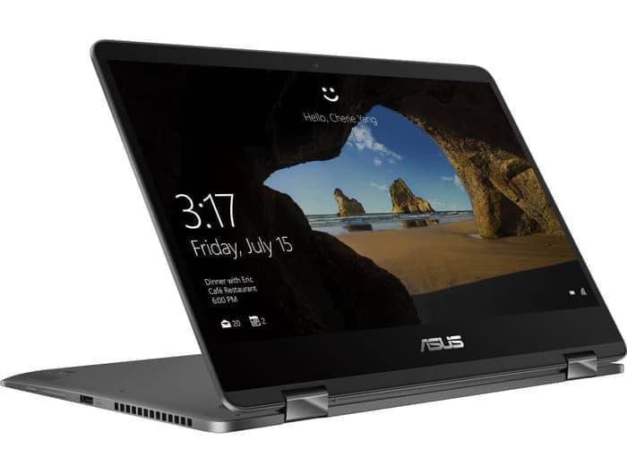 ASUS ZenBook Flip UX461FN-8565U-16GB-512GB-MX150-Win10 Dark Grey