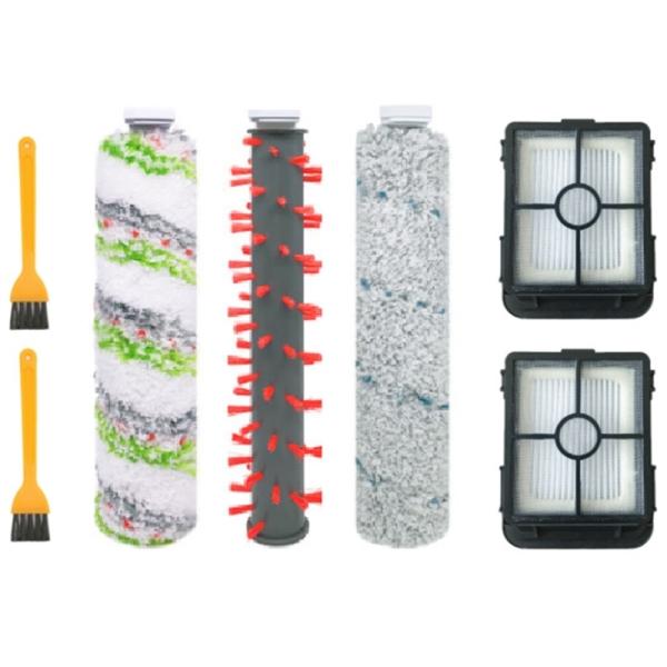 Pet Brush Carpet Brush Floor Brush Filter Suitable for Bissell 2554A Vacuum Cleaner Accessories, 7PCS