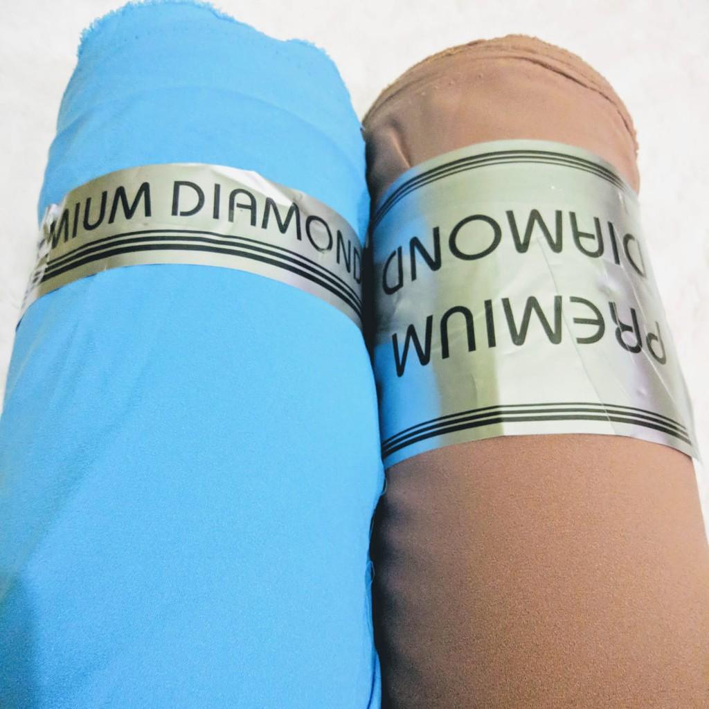 ABIMAYU Bahan kain diamond crepe premium, diamond georgette