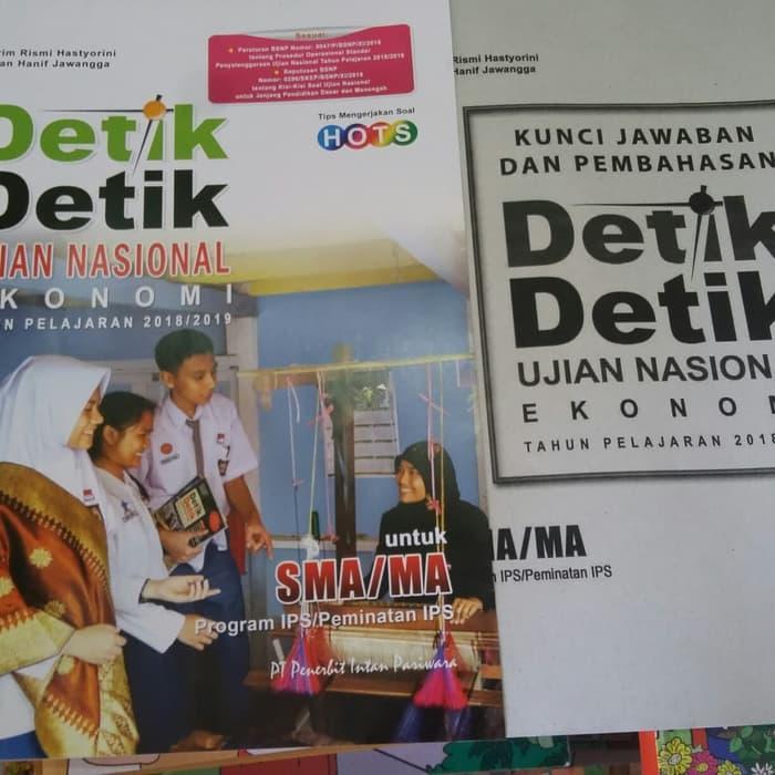 Detik Detik Un Ekonomi Sma/ma 2019 New By Malisonshops.