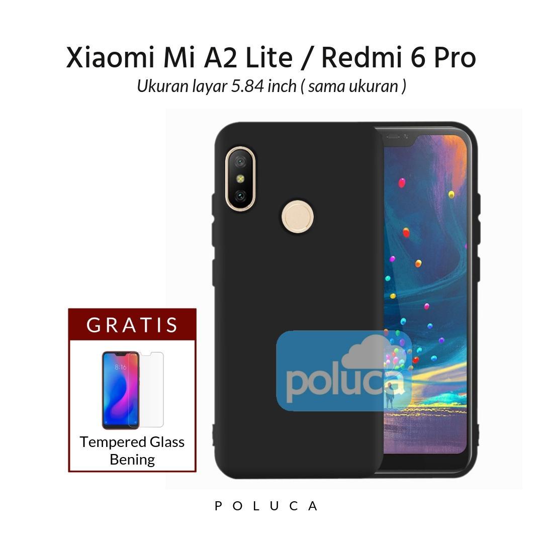 Poluca Case Xiaomi Redmi 6 Pro, Mi A2 Lite Layar 5.84 inch ( sama ukuran
