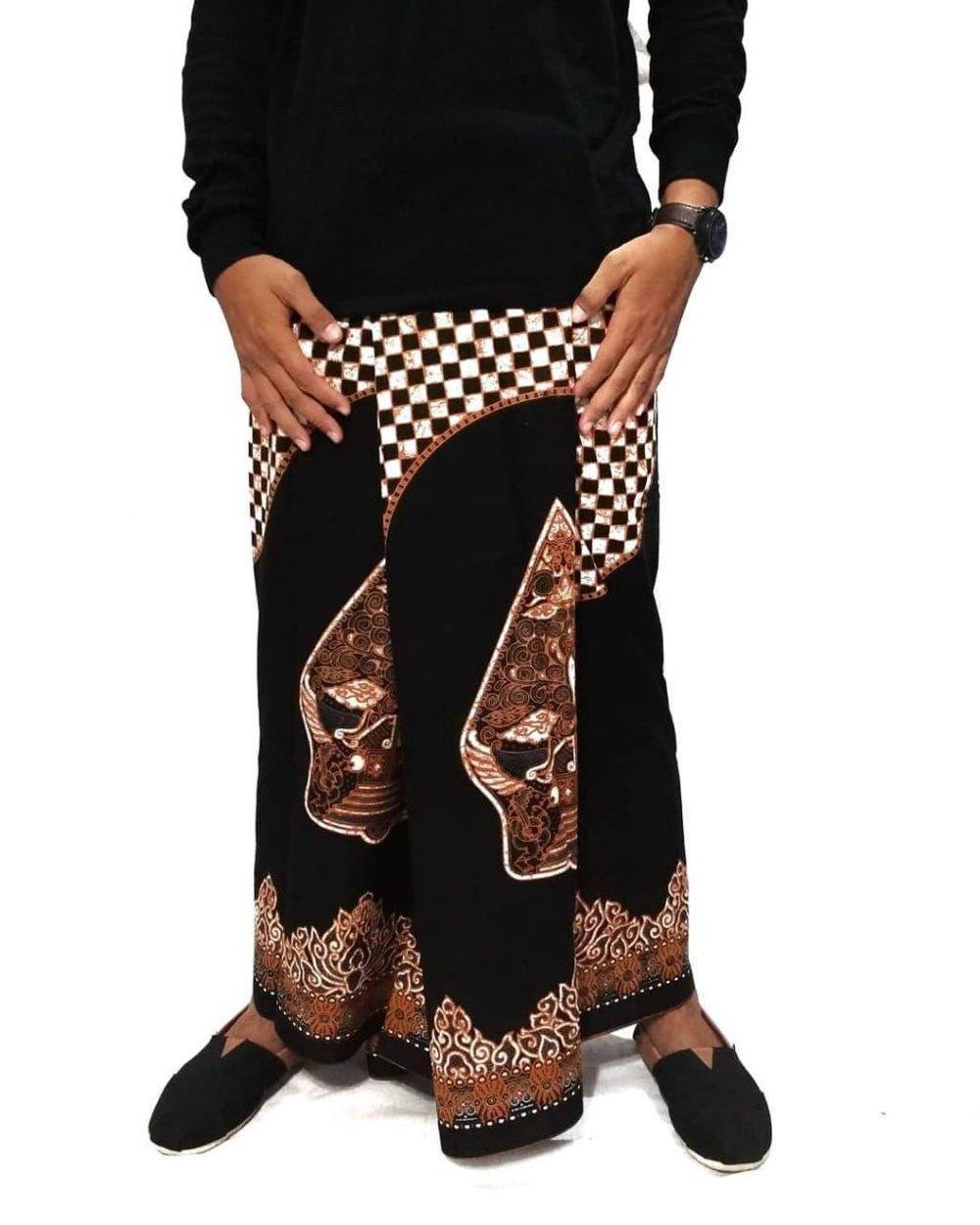 Sarung Batik Motif Gunungan Wayang New Style - High Quality - Sarung Az Zahir - Sarung Gus Azmi