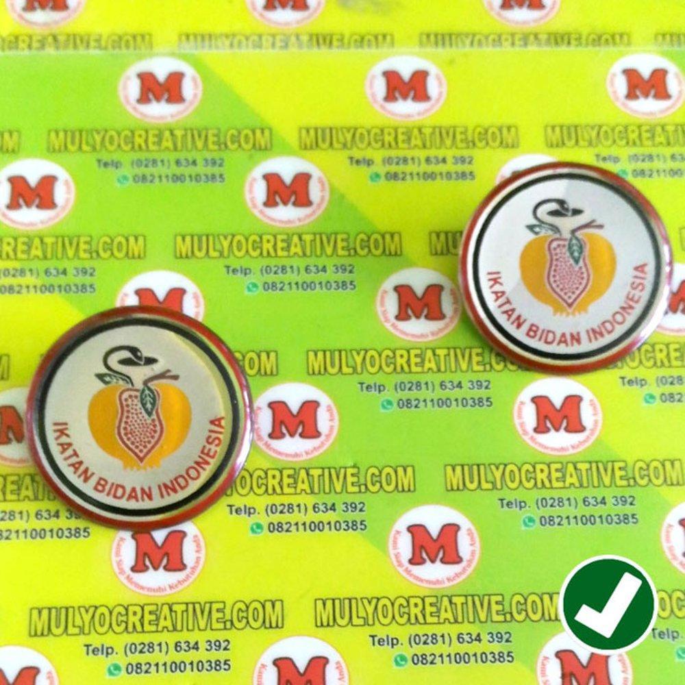 Pin IBI - Pin Logo Ikatan Bidan Indonesia - Bros IBI - Emblem Lencana IBI / 10pcs