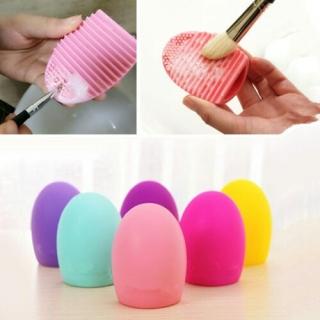 Sweet Honey Egg Brush Pembersih Kuas Make Up thumbnail