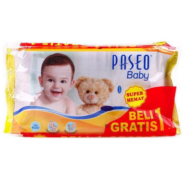 Tisu Tissue Paseo Basah Wipes 50 Lembar Buy 1 Get 1 Free By Bubu Shop.