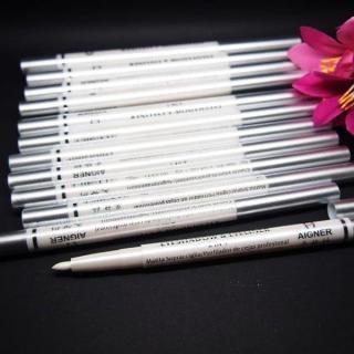 PENSIL PUTAR AIGNER 2in1 - Pensil Alis Eyeshadow & Eyeliner - Warna Putih thumbnail