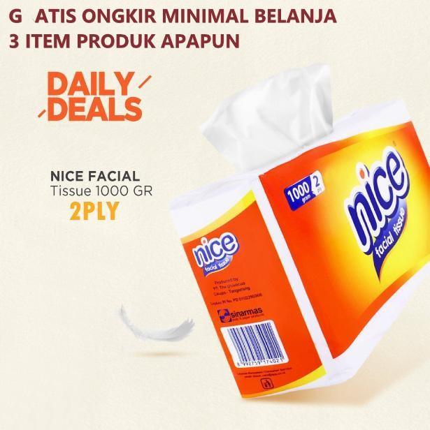 Nice Facial Tissue Kiloan 1000 Gr By Cekkomtech.