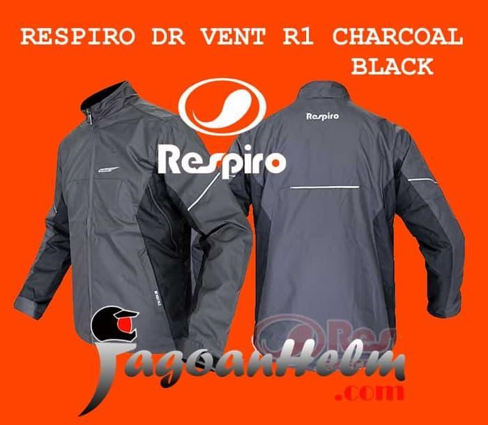 RESPIRO JAKET DR-VENT R1.3   CHARCOAL BLACK   JACKET MOTOR