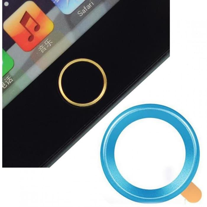 Touch Pad Home Button Ring Multi Color for iPhone