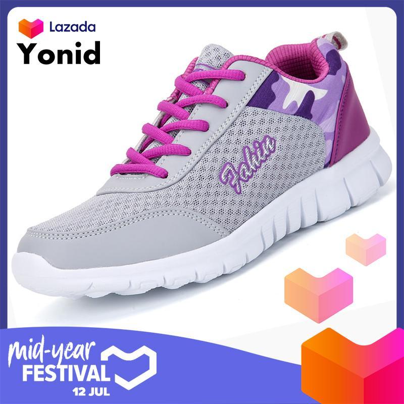 421f9cbe8 Yonid Women's Sneakers Casual Shoes Dance Sports Shoes Mesh Running Shoe
