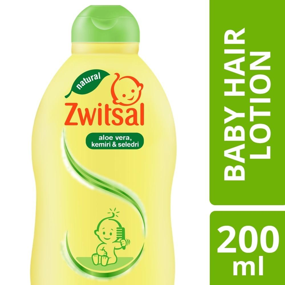 Zwitsal Natural Baby Hair Lotion Aloe Vera Kemiri Seledri 200ml By Lazada Retail Zwitsal.