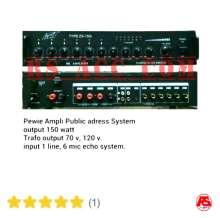 Power Amplifier Corong Pewie Zx 150 I (150 Watt)