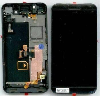 LCD +TOUCHSCREEN BB Z10 4G +FRAME