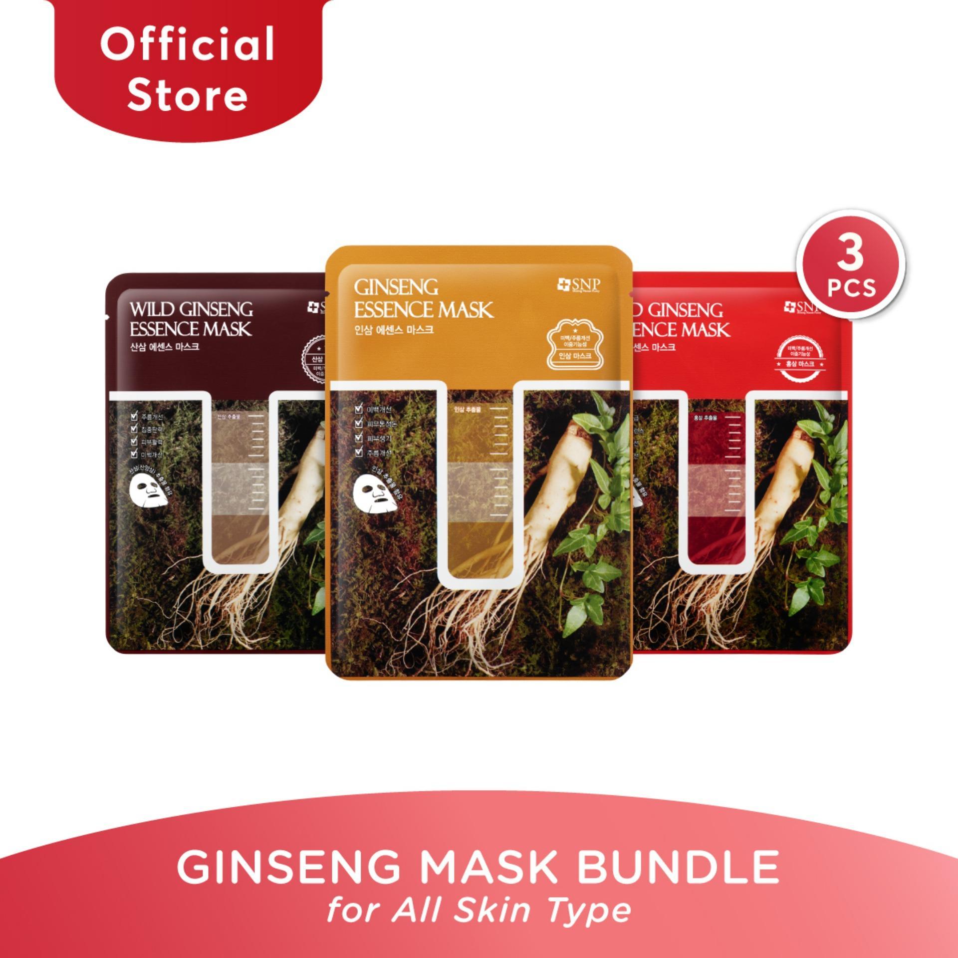 SNP Ginseng Mask Bundle