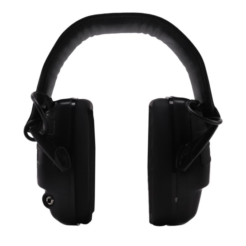 Electronic Earmuff NRR 25DB Hunting Electronics Protection Hunting Ear Muffs (Black)