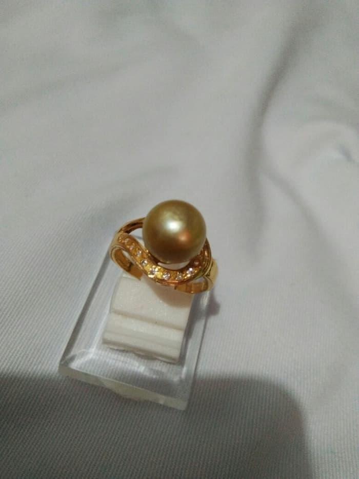 Cincin Emas Mutiara Laut Gold By Nindi_happyshooping.