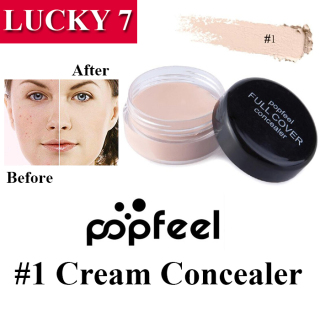(COD) POPFEEL CONCEALER CREAM NEW IMPORT - 5 PILIHAN VARIAN WARNA 1 2 3 4 5 thumbnail