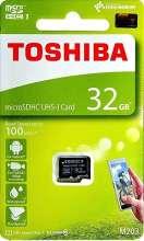 Memori Card 32GB Toshiba Memori Card Micro SD - Black