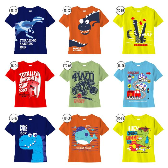 HOT PROMO Kaos Anak Caracters BUY 1 GET 1 FREE