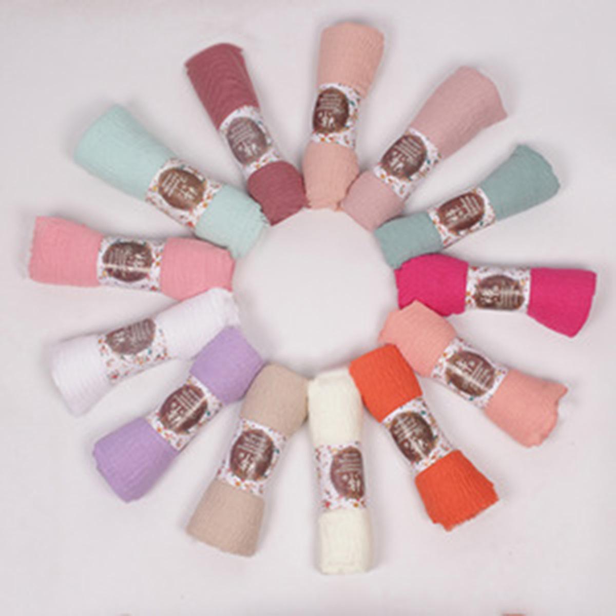 Helen_Shop/Hijab Pashmina Crinkle (Random) / Jilbab Pasmina Crinkle warna terlengkap Top Quality