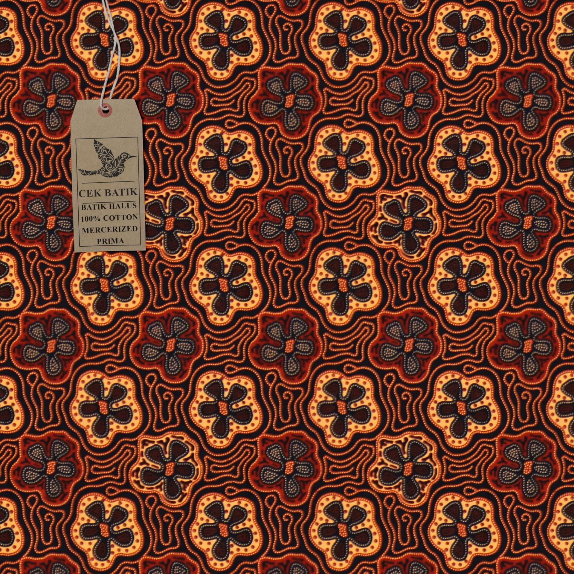 Dt Collection Batik Pekalongan Kemeja Batik Pria Lengan Pendek Motif ... 3a20af4fb8