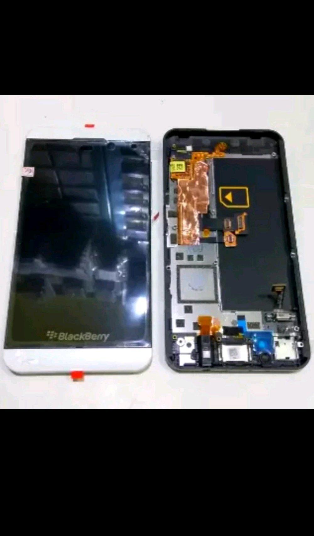 Lcd Touchscreen Plus Frame Blackberry BB Z10 4G Original