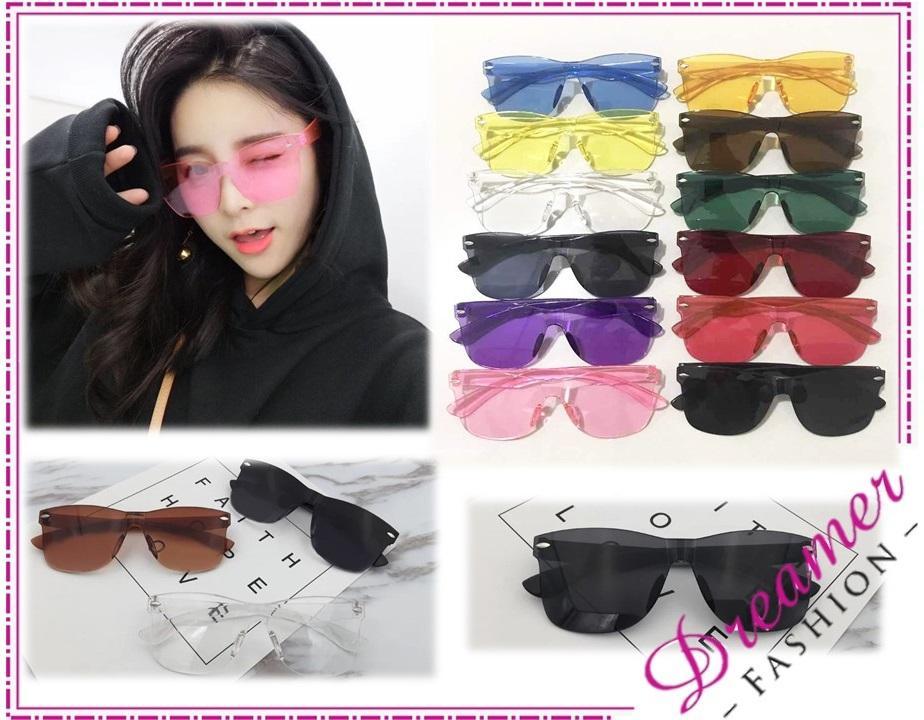 DF RSB Kacamata Wanita 2474 Kaca Mata Gaya Kaca mata Kekinian Kaca Mata Jaman Now