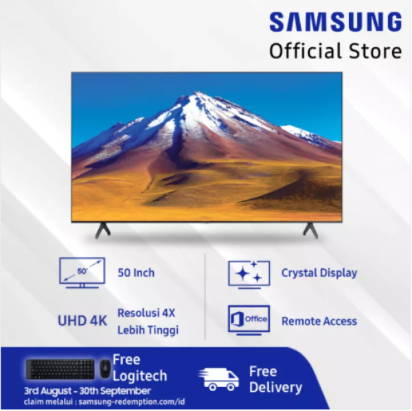 Samsung 50 4K Crystal UHD Smart TV TU6900 (2020)