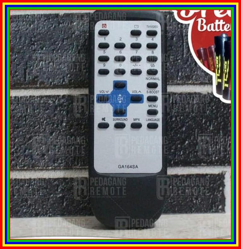 Remot Remote TV Sharp Tabung Ga1648A Kw Super