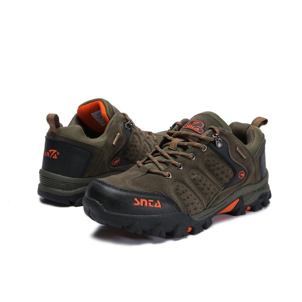 Sepatu SNTA Semi Boot Type 432 Green-Sepatu Gunung-Sepatu Outdoor Pria