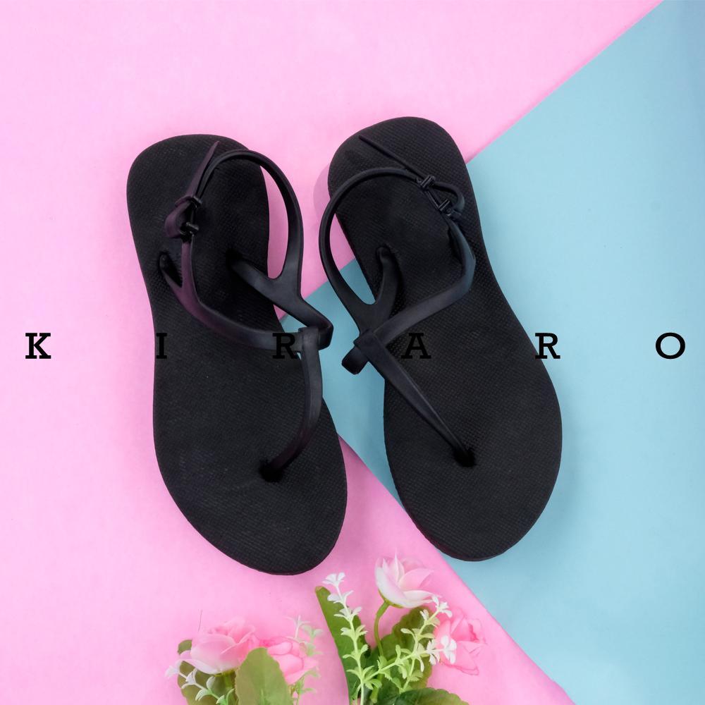 KIRARO Sandal Sendal Spons Jepit Tali Wanita Casual New K5030R 002248e1f3