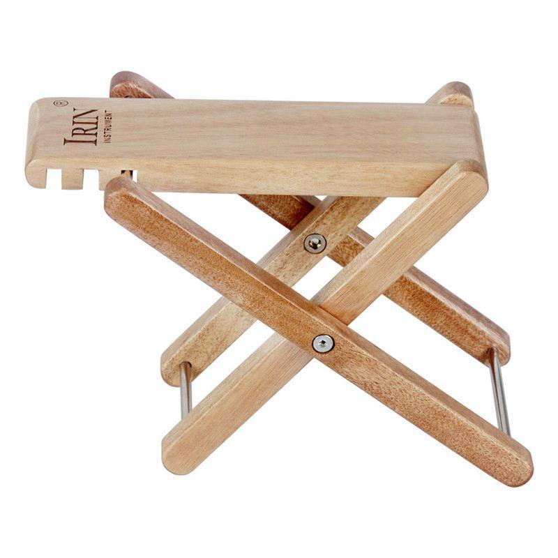 IRIN Solid Wood Guitar Pedal Guitar Footstool Footrest Rest Adjustable Guitar Ukulele Electric Guitar Universal Accessories