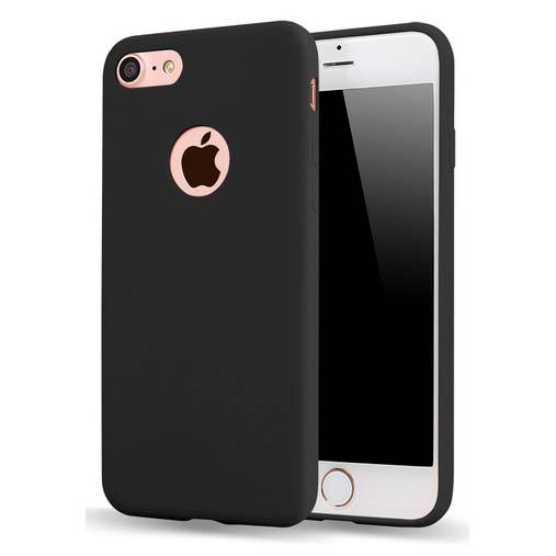 Ultra Thin TPU Case Slim Jet for iPhone 7/8 Plus - Black