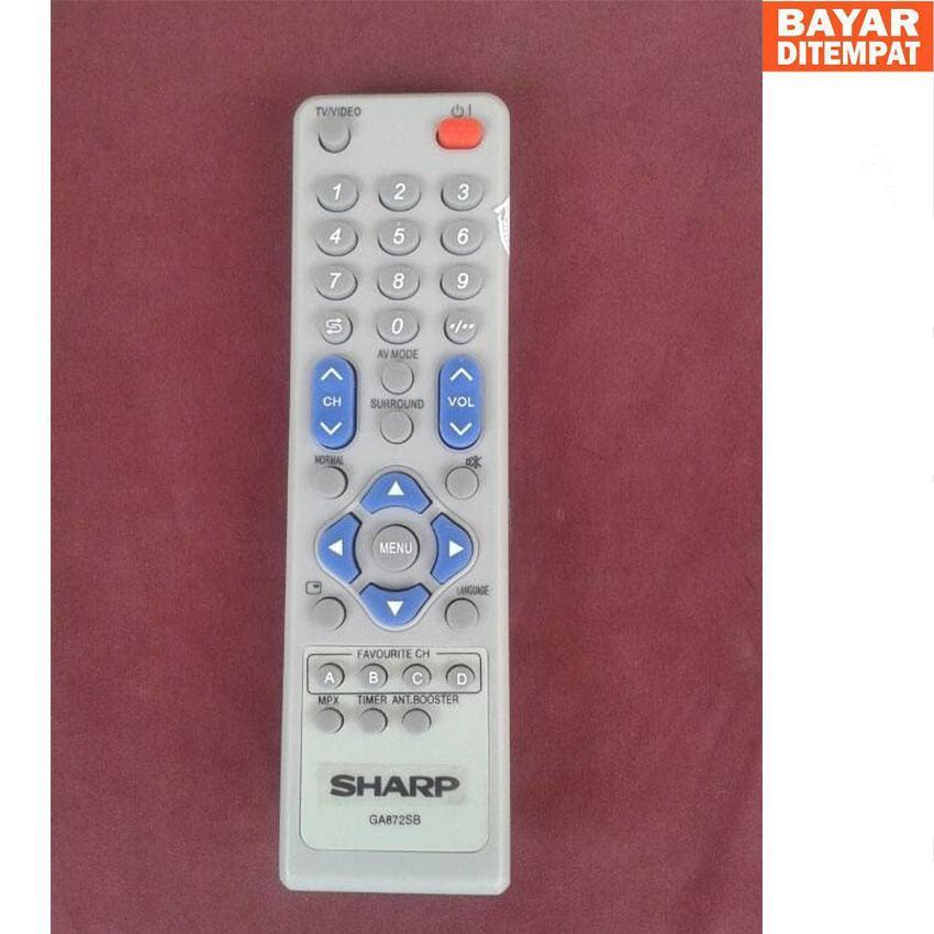 Remot TV Sharp Alexander Tabung / Slim / Flat Original Pabrik