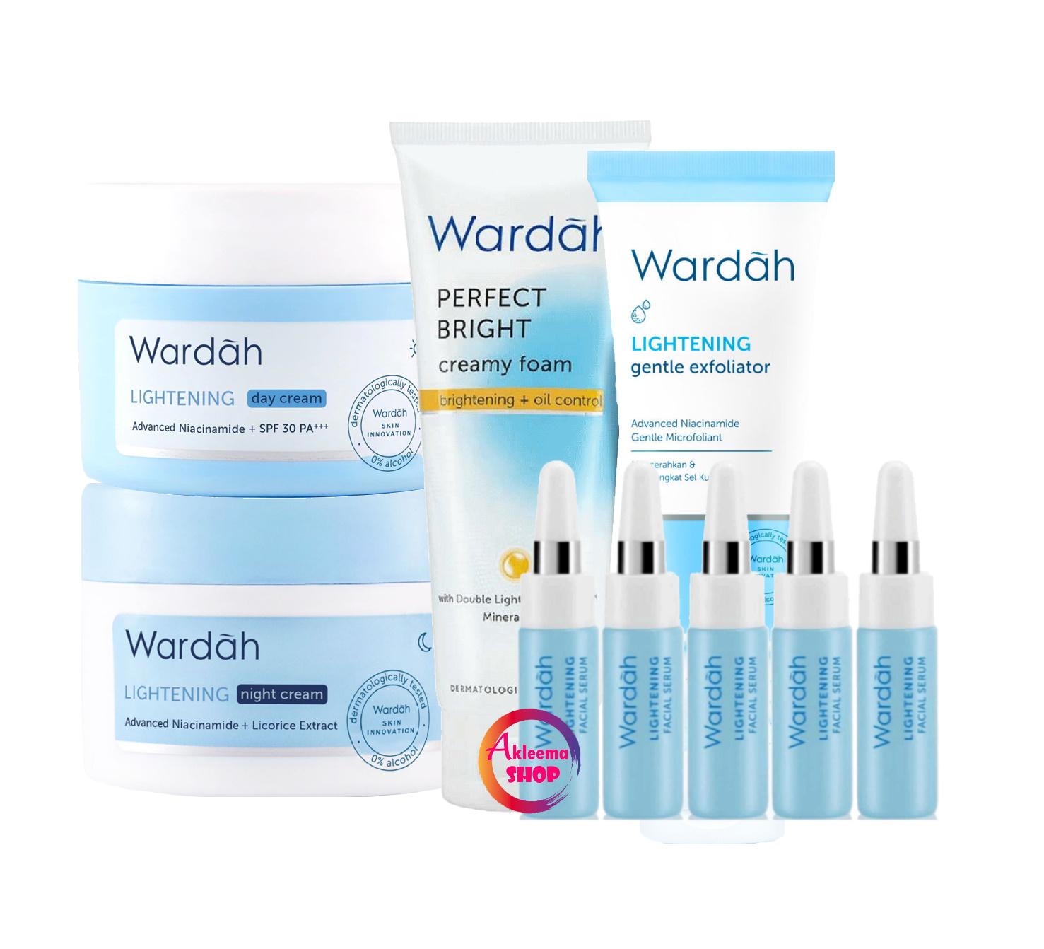 Wardah Paket Lightening Series 30 Gr Untuk Kulit Berminyak Lazada Indonesia