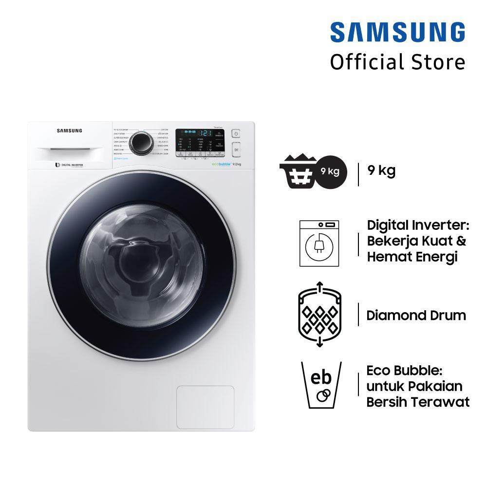 Jual Mesin Cuci Terbaru Sanyo Washing Machine Sw755xt Smart Beauty 7 Kg Samsung Front Loading Dengan Diamond Drum 9 Ww90j54e0bw