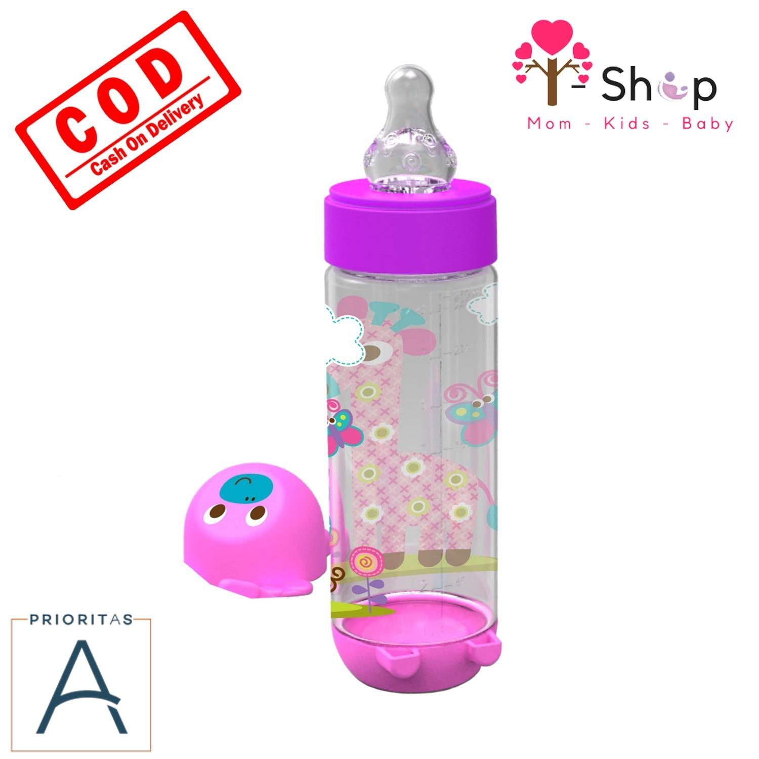 i-shop Baby Safe Feeding Bottle 250 ml / Botol Susu Bayi 250ml / Botol