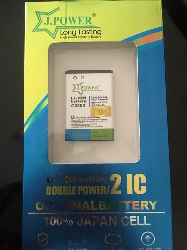 Batre Baterai Double Power JPower Samsung C3300 C3303 Champ E1272