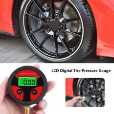 0-200PSI LCD Digital Ban Tekanan Udara Ban Pengukur untuk Mobil Truk Motor-Intl